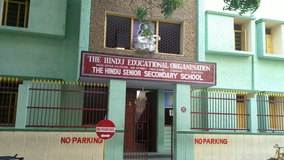 The Hindu Senior Secondary School Triplicane - cover