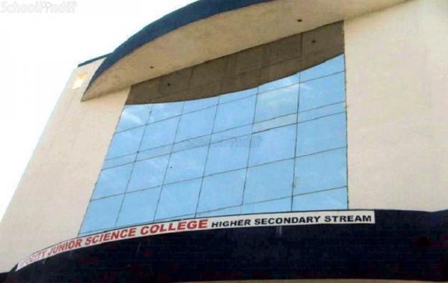 Infocity Junior Science College - Sargasan - cover