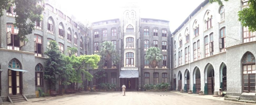 St Xavier's High School Fort - cover