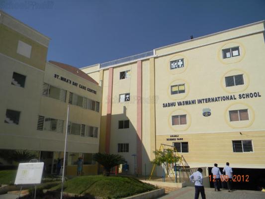 Sadhu Vaswani International School - cover
