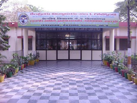 Kendriya Vidyalaya Golconda - cover