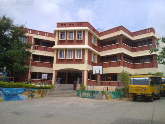 P Obul Reddy Public School - cover