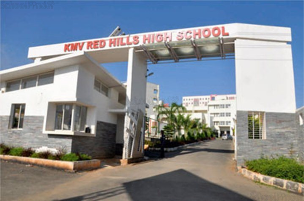 KMV Red Hills High School - cover