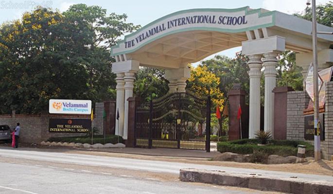 The Velammal International School - cover
