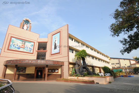 Avila Convent Matriculation Higher Secondary School - cover