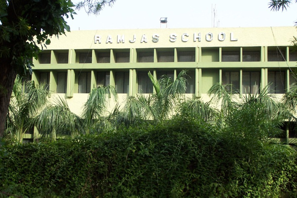 Ramjas School RK Puram - cover