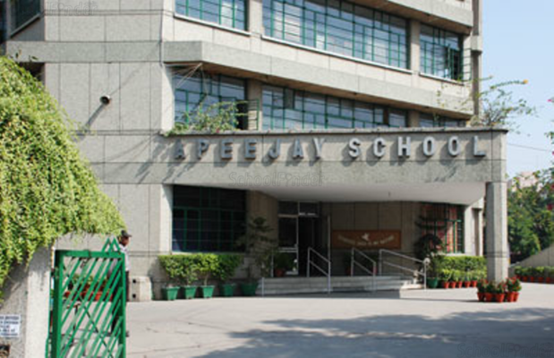 Apeejay School Pitampura - cover