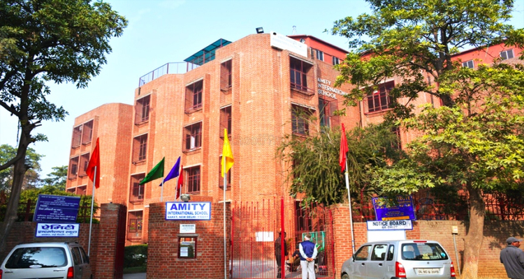 Amity International School - cover