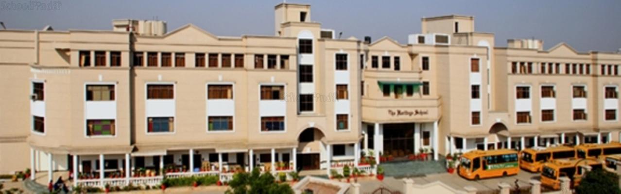 The Heritage School Rohini - cover