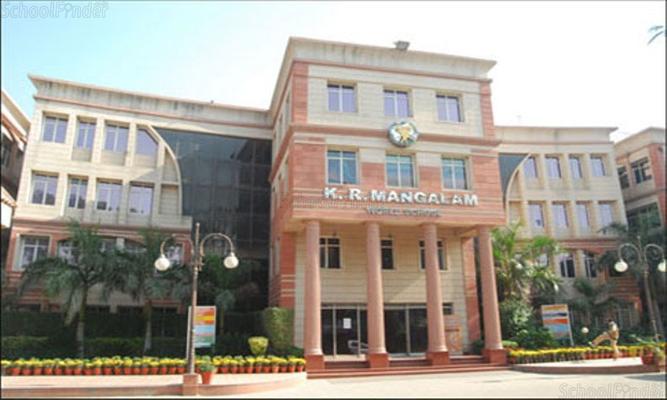 KR Mangalam School - cover