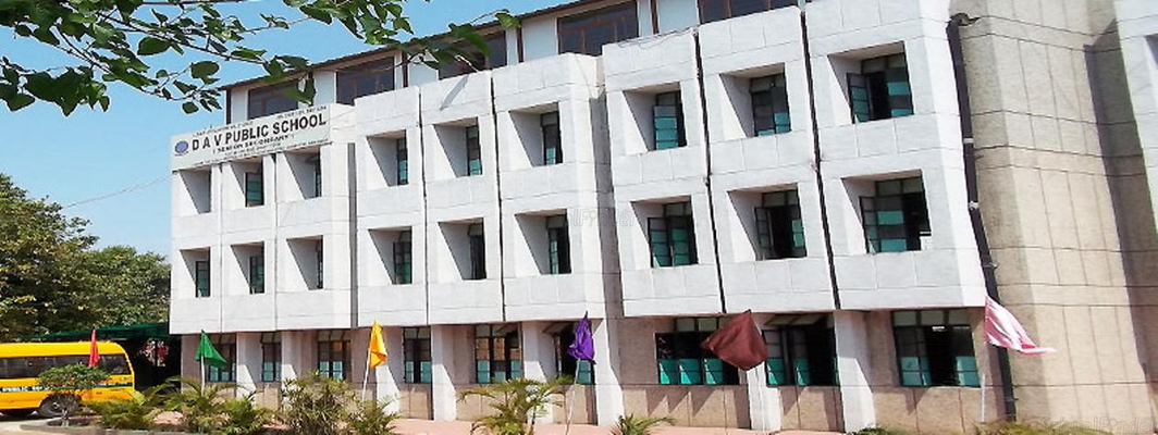 DAV Public School East of Loni Road - cover