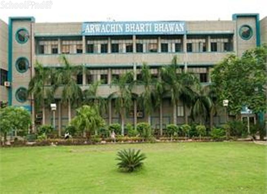 Arwachin Bharti Bhawan Senior Secondary School - cover