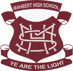 Mahbert High School - logo