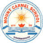 Mount Carmel High School Gandhinagar - logo
