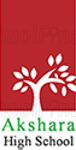 Akshara High School - logo