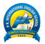 P K International English School - logo