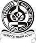 Alphonsa School Secondary - logo