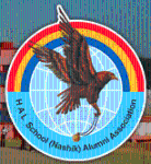 Hal High School - logo