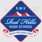 KMV Red Hills High School - logo