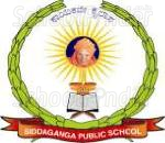 Sri Siddaganga Higher Primary School - logo