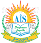 Akash International School - logo