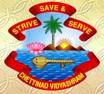 Chettinad Vidyashram - logo