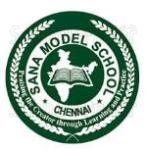 Sana Model School - logo