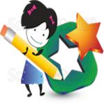 Nakshatra International School - logo