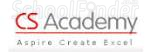 CS Academy - logo