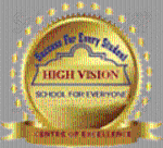 High Vision English Medium School Talegaon - logo