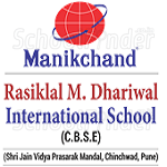 Rasiklal M Dhariwal International School - logo