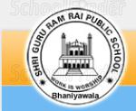 Shri Guru Ram Rai Public School Jhanda - logo