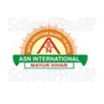 Adarsh Shiksha Niketan International School - logo