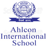 Ahlcon International School - logo