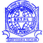 BR Tyagi Senior Secondary School - logo