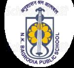 N K Bagrodia Public School - logo