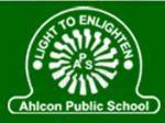 Ahlcon Public School - logo