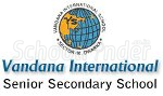 Vandana International School Dwarka - logo