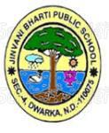 Jinvani Bharti Public School - logo
